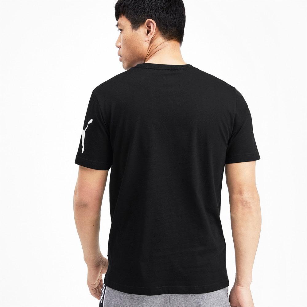 Изображение Puma Футболка Big Logo Graphic Short Sleeve Men's Tee #2