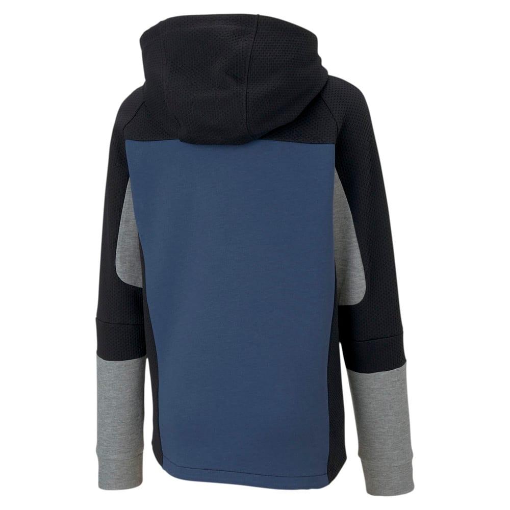 Изображение Puma Детская толстовка Evostripe Hooded Jacket #2