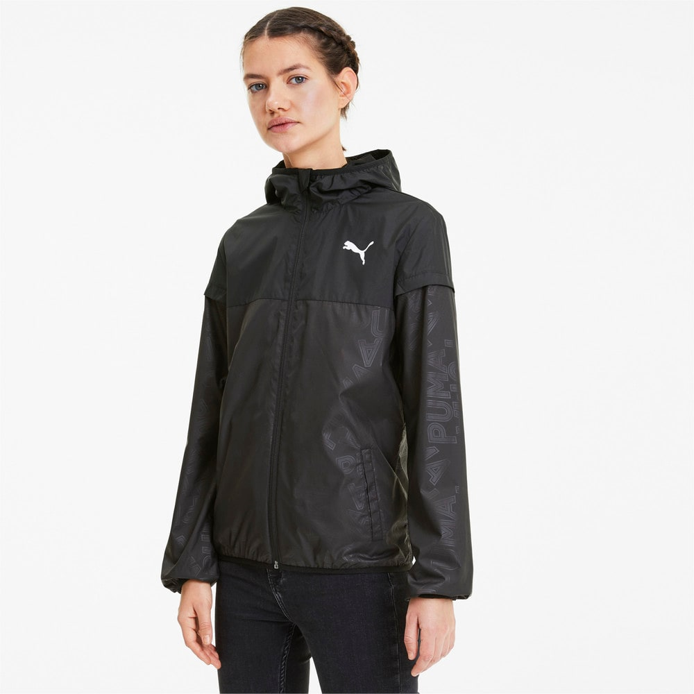 Изображение Puma Ветровка Essentials Windbreaker, AOP #1