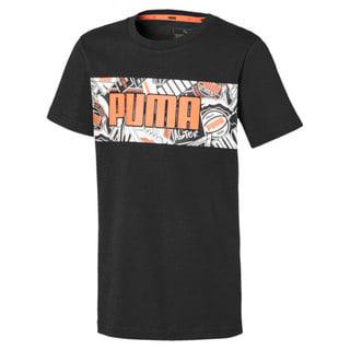 Зображення Puma Дитяча футболка Alpha Graphic Tee
