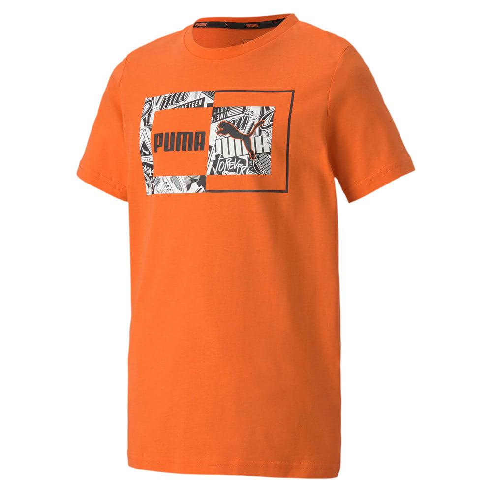 Зображення Puma Дитяча футболка Alpha Graphic Tee #1