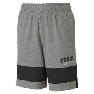 Изображение Puma Детские шорты Alpha Jersey Shorts