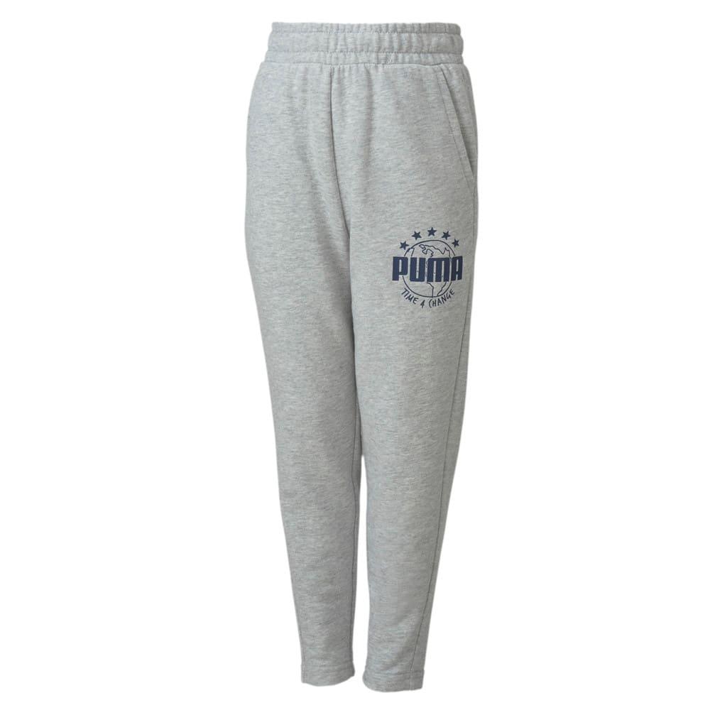 Изображение Puma Детские штаны T4C Sweat Pants #1