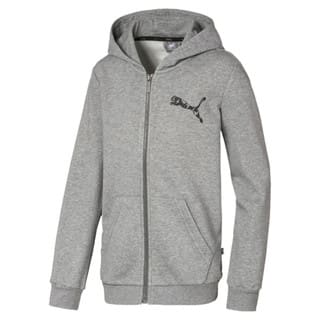 Зображення Puma Толстовка Graphic Full Zip Boys' Hoodie