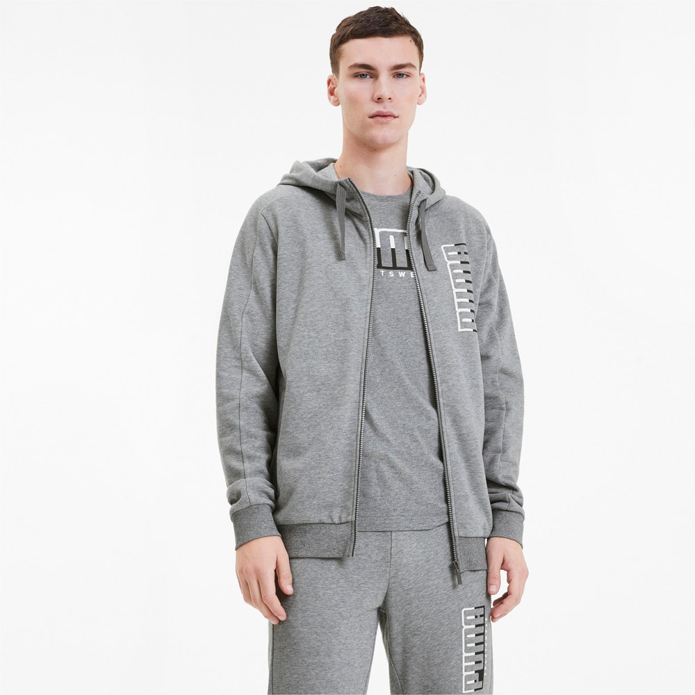 Изображение Puma Толстовка ATHLETICS Hooded Jacket TR #1