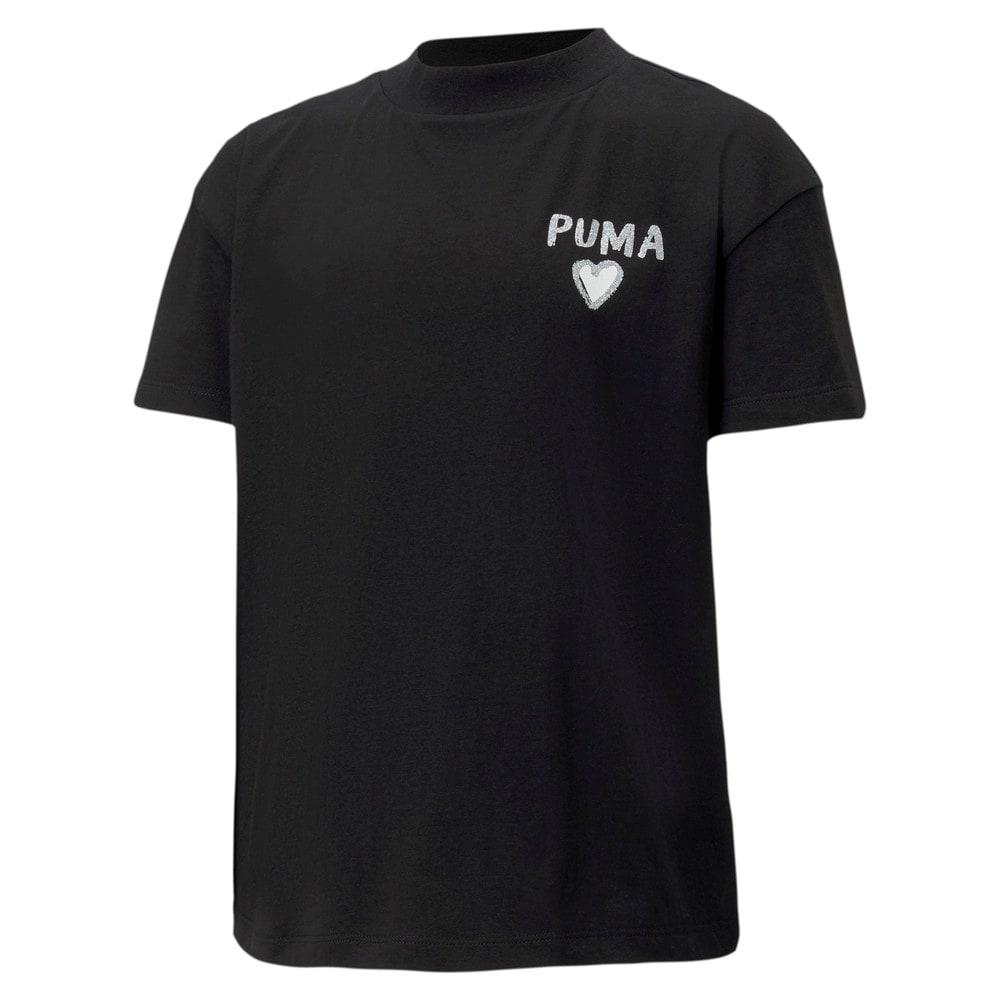 Зображення Puma Дитяча футболка Alpha Trend Tee G #1