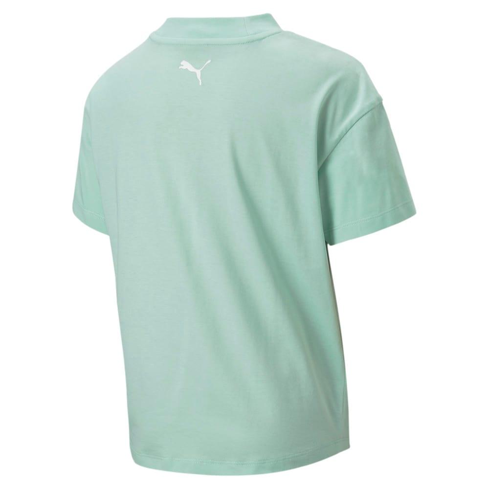 Изображение Puma Детская футболка Alpha Trend Tee G #2
