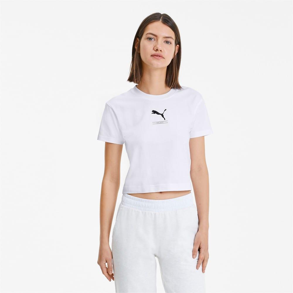 Image PUMA Camiseta Cropped Nu-tility Fitted Feminina #1
