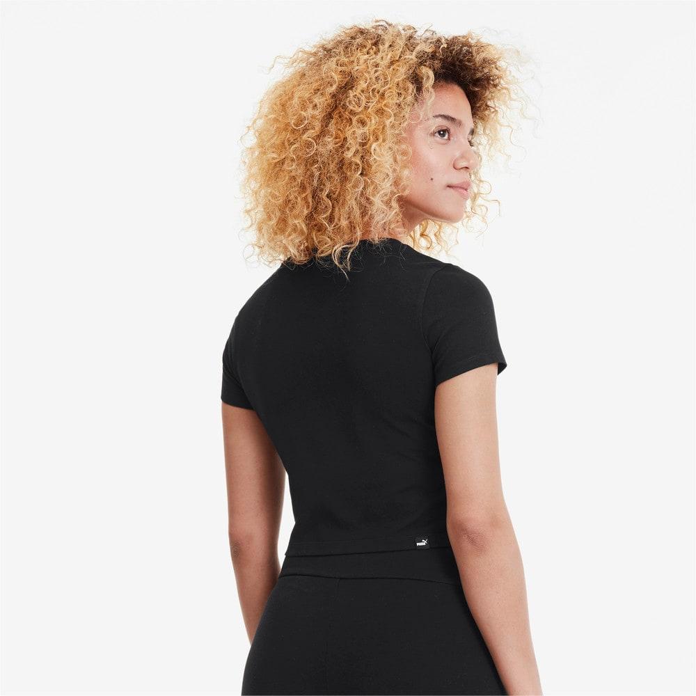 Image PUMA Camiseta Essentials Fitted Feminina #2