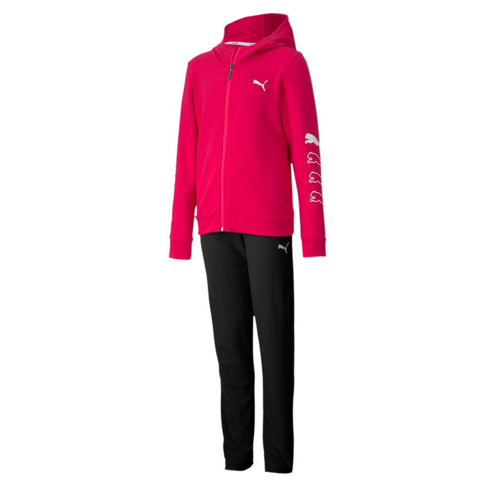 Зображення Puma Спортивний костюм Hooded Girls' Sweat Suit #1