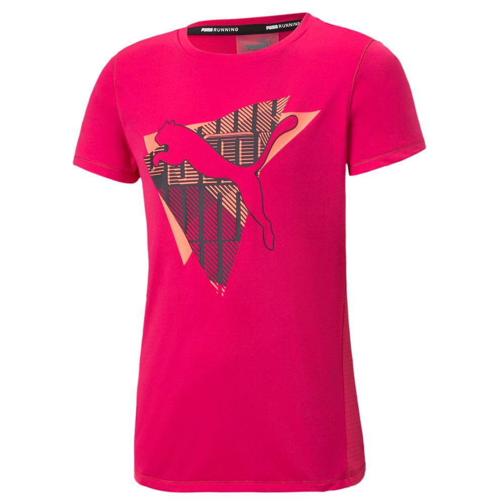 Зображення Puma Дитяча футболка Runtrain Logo Tee #1