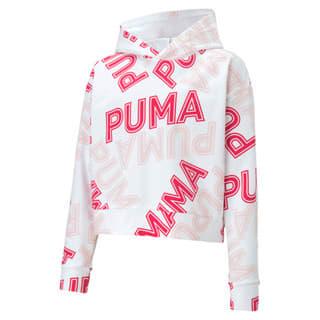 Imagen PUMA Polerón con capucha Modern Sports para niñas