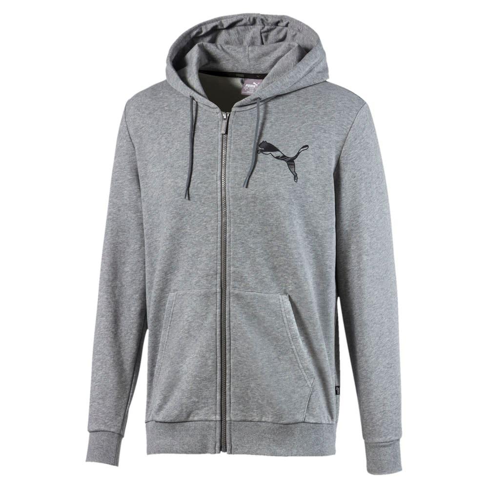 Изображение Puma Куртка Graphic Men's Hooded Jacket #1