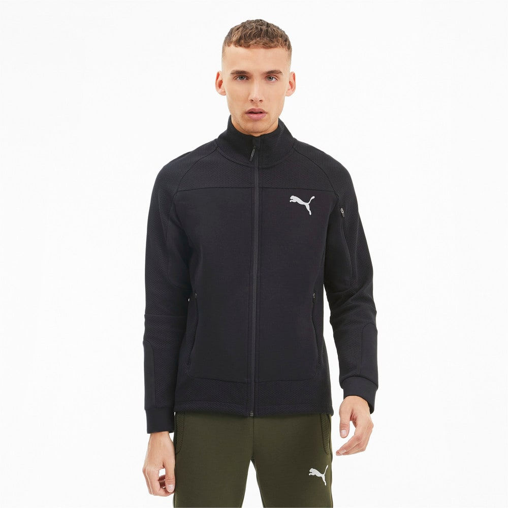 Изображение Puma Олимпийка Evostripe Men's Full Zip Jacket #1