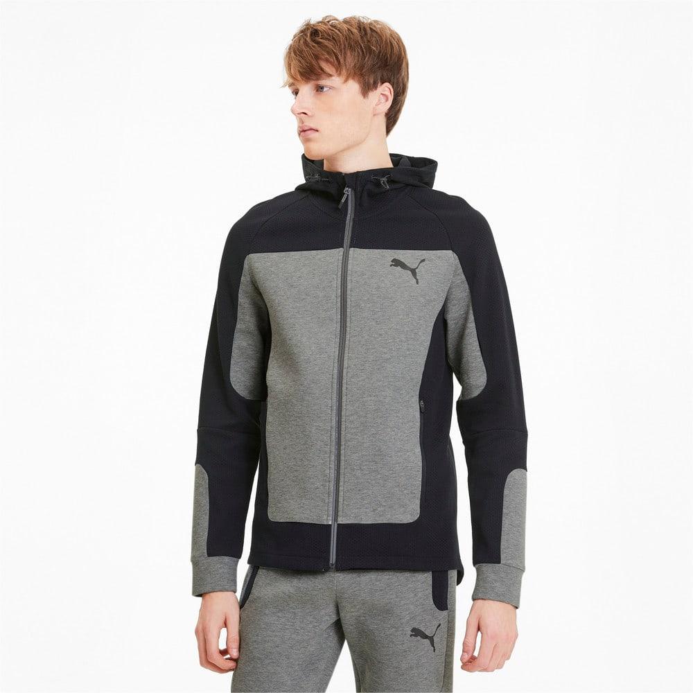 Изображение Puma Толстовка EVOSTRIPE Hooded Jacket #1