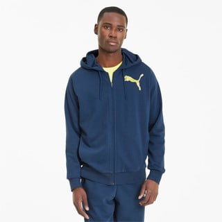 Зображення Puma Толстовка Active Graphic Full Zip Men's Hoodie