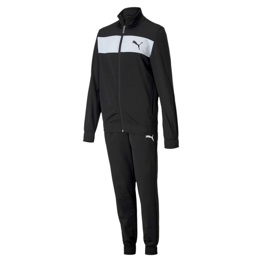 Изображение Puma Детский спортивный костюм Poly Suit #1