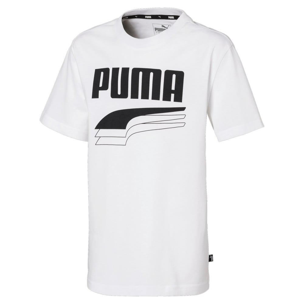 Зображення Puma Дитяча футболка MODERN SPORTS Logo Tee #1
