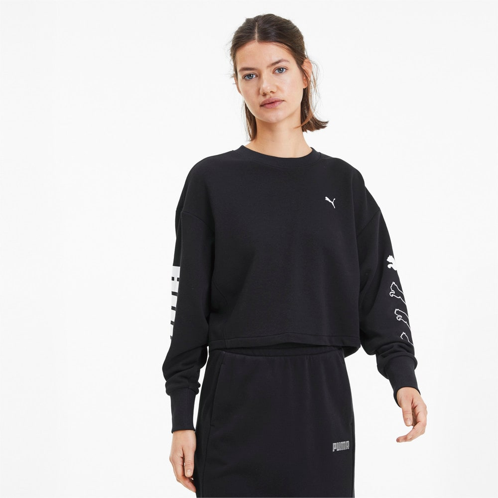 Зображення Puma Толстовка Rebel Crew Sweat TR #1