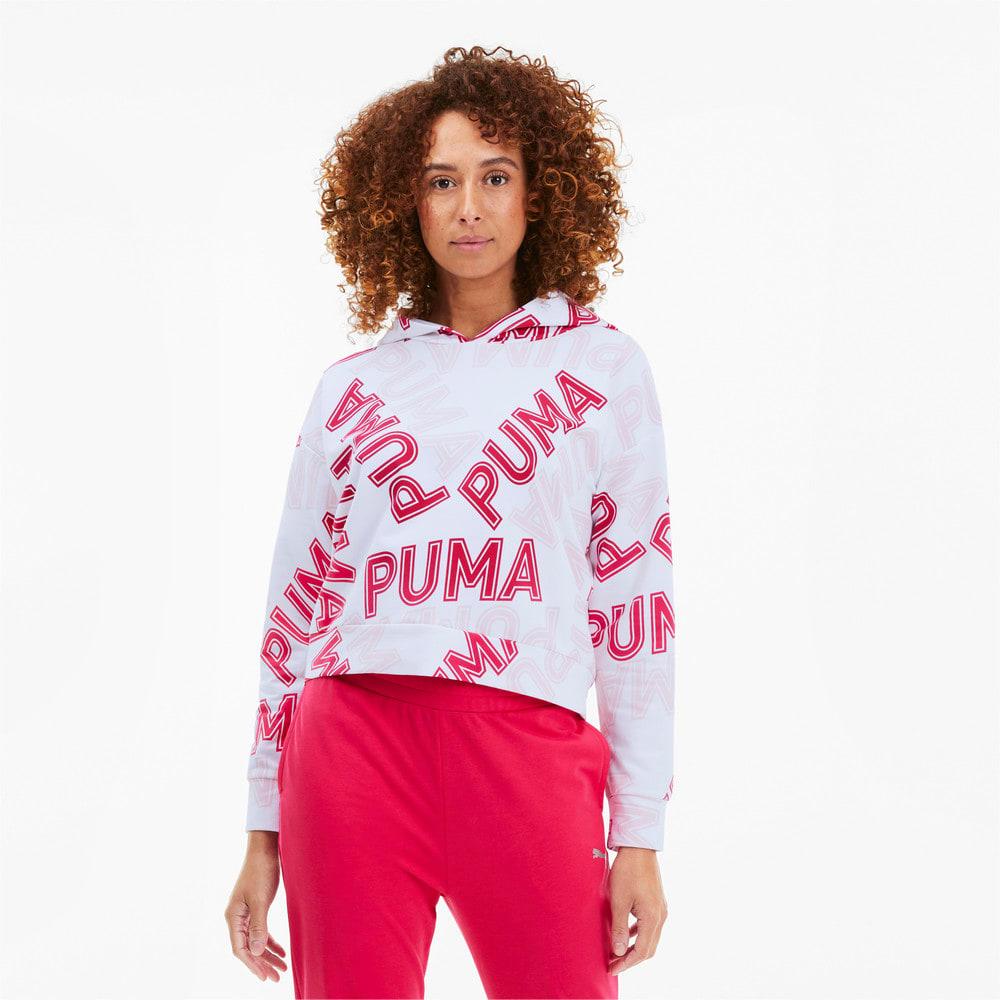 Imagen PUMA Polerón con capucha Modern Sports AOP para mujer #1