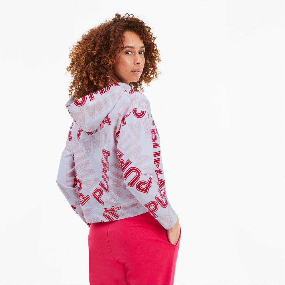 Imagen PUMA Polerón con capucha Modern Sports AOP para mujer #2
