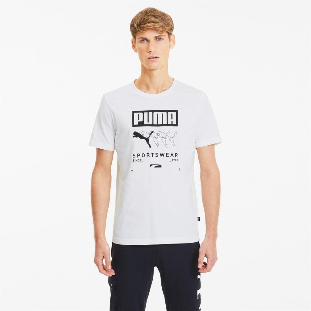Image PUMA Camiseta Box PUMA Masculina #1
