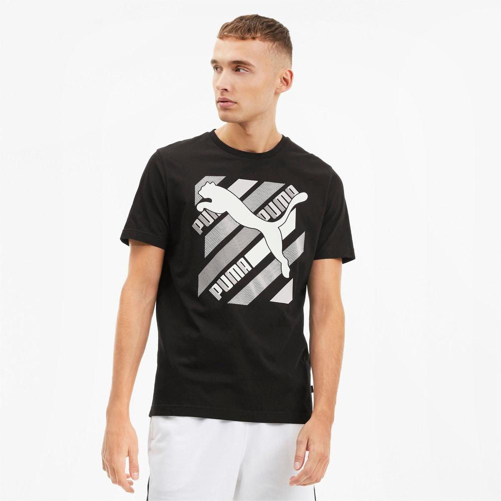 Image PUMA Camiseta Cat Brand Graphic Masculina #1