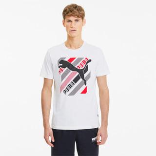Görüntü Puma Cat Brand GRAPHIC Erkek T-shirt