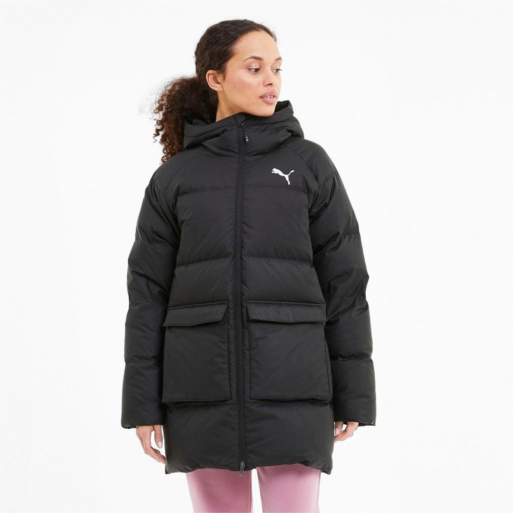 Изображение Puma Куртка Long Hooded Down Coat #1