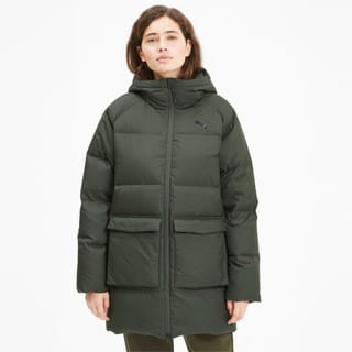 Изображение Puma Куртка Long Hooded Down Coat