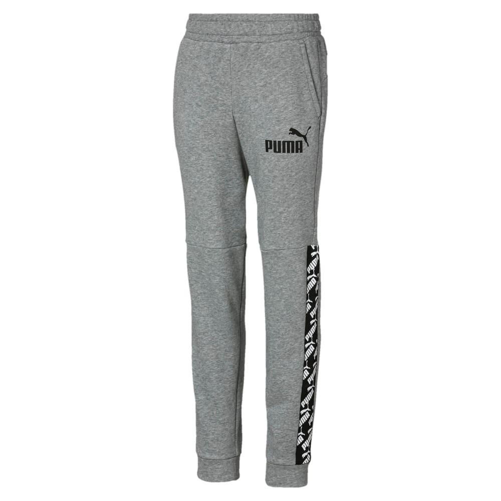 Изображение Puma Штаны Amplified Boys' Sweatpants #1: Medium Gray Heather
