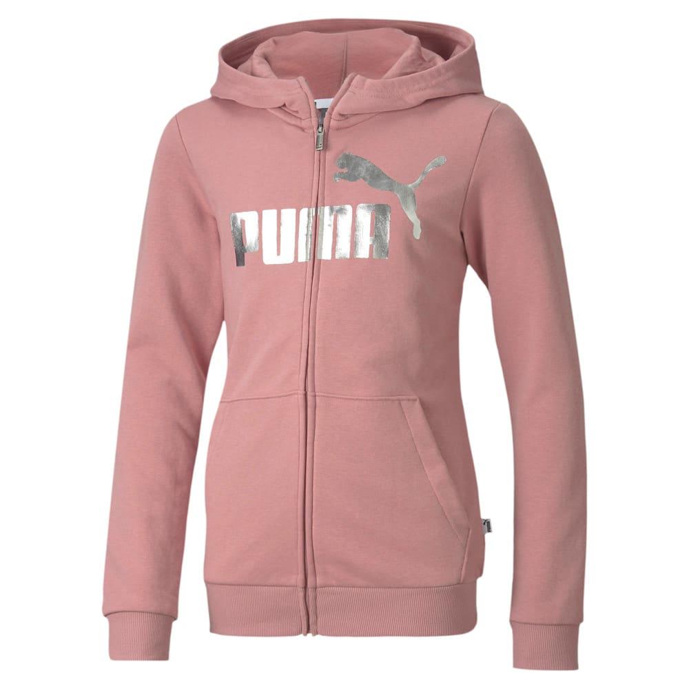 Изображение Puma Детская толстовка ESS+ Hooded Sweat Jacket #1