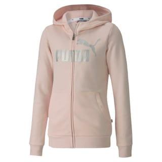 Изображение Puma Детская толстовка ESS+ Hooded Sweat Jacket