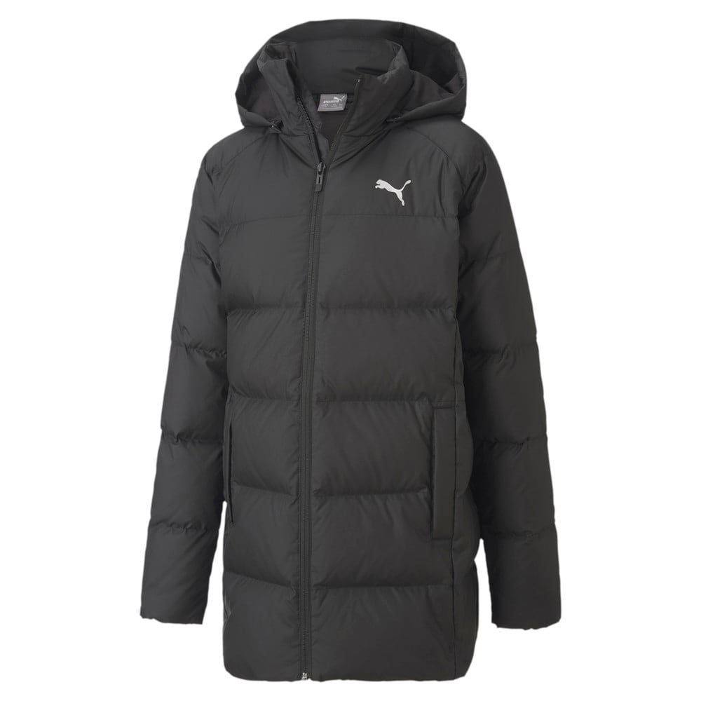 Изображение Puma Детская куртка Long Down Jacket G #1
