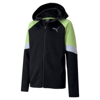 Зображення Puma Толстовка Active Sports Full Zip Youth Hoodie
