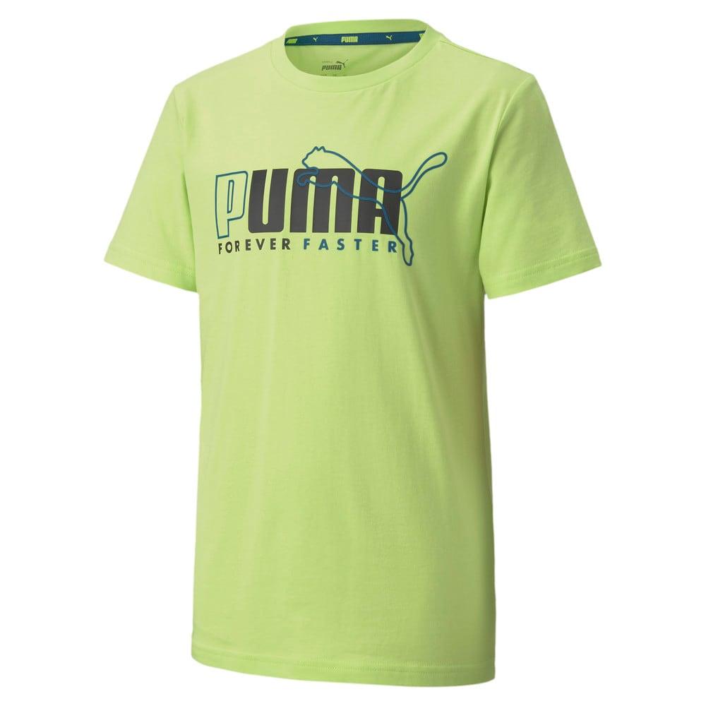 Изображение Puma Детская футболка Alpha Graphic Tee #1