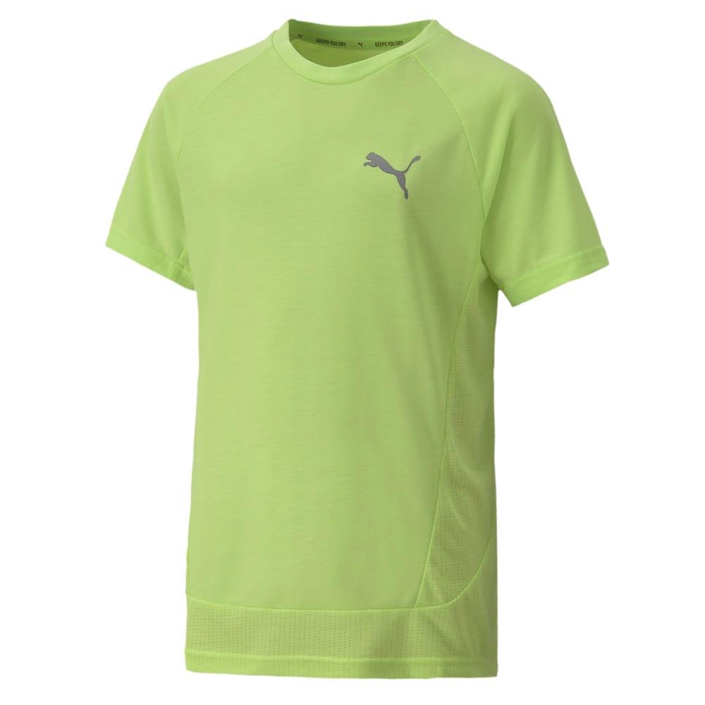 Изображение Puma Детская футболка EVOSTRIPE Tee #1