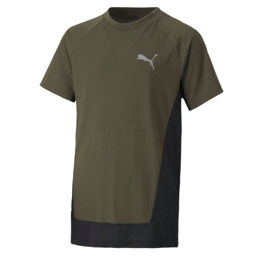 Зображення Puma Дитяча футболка EVOSTRIPE Tee #1
