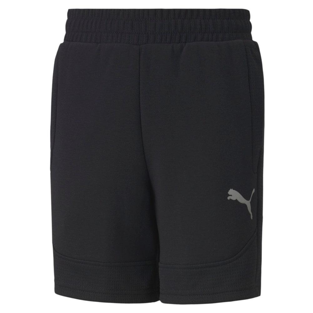Изображение Puma Детские шорты EVOSTRIPE Shorts #1