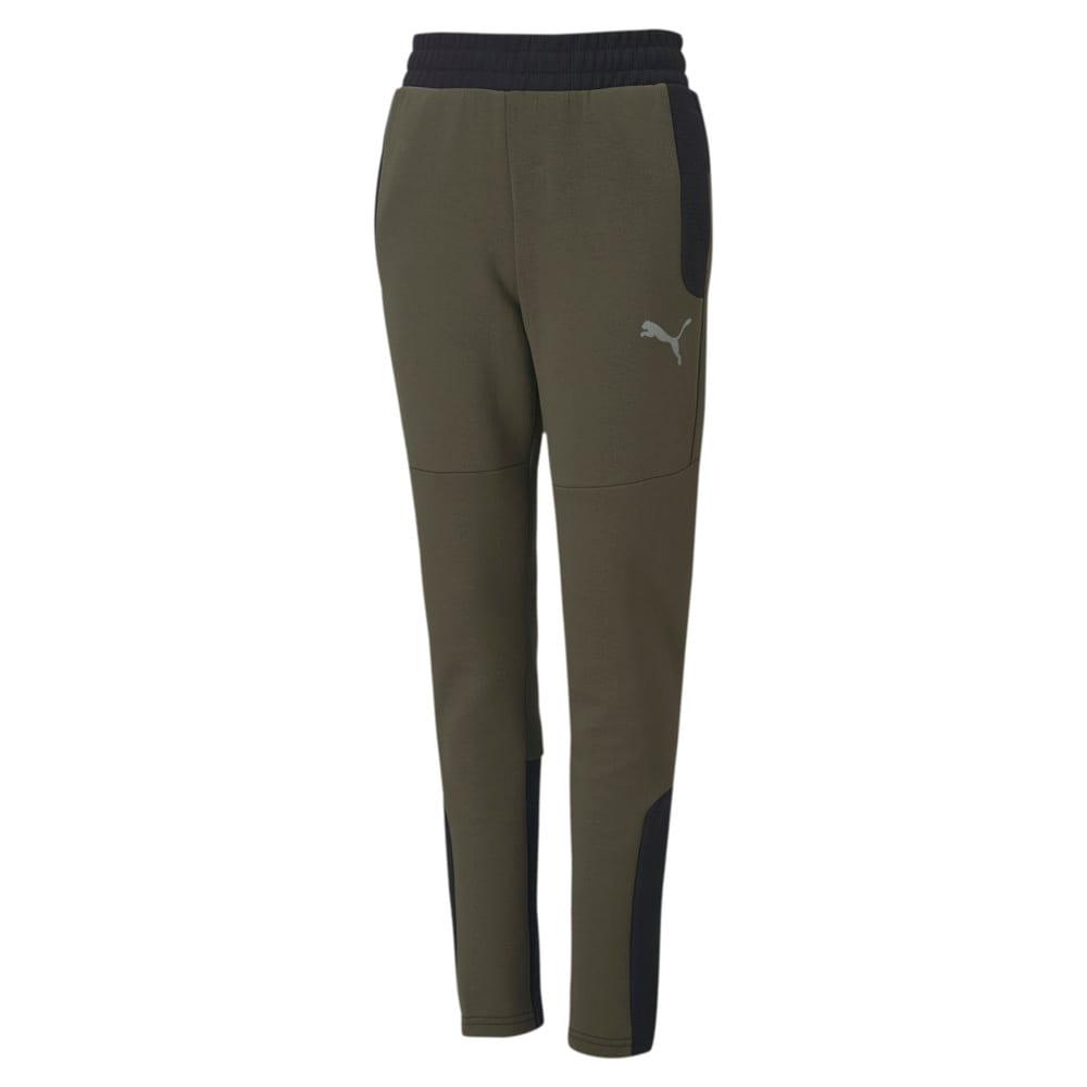 Изображение Puma Детские штаны EVOSTRIPE Pants #1