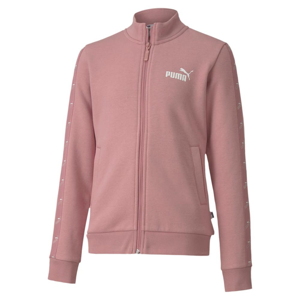 Image Puma Amplified Full Zip Youth Track Jacket #1