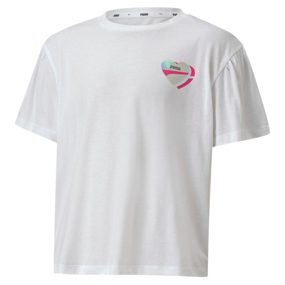 Изображение Puma Детская футболка Alpha Style Tee #1