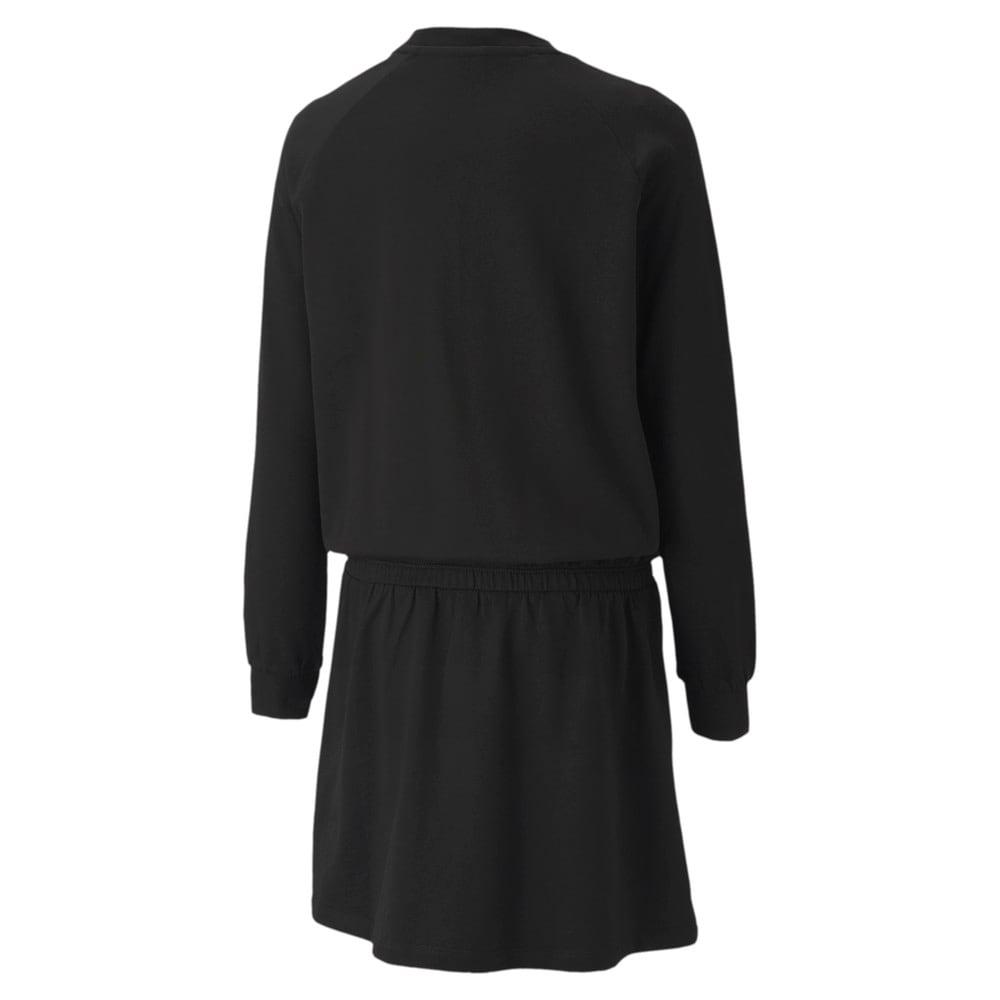 Image PUMA Vestido Alpha Long Sleeve Feminino Juvenil #2