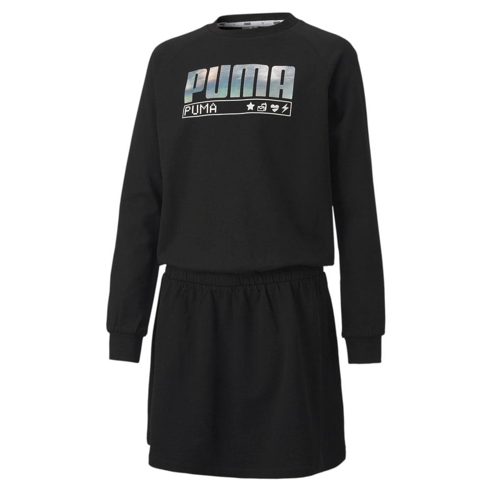 Изображение Puma Детское платье Alpha Dress #1: Puma Black