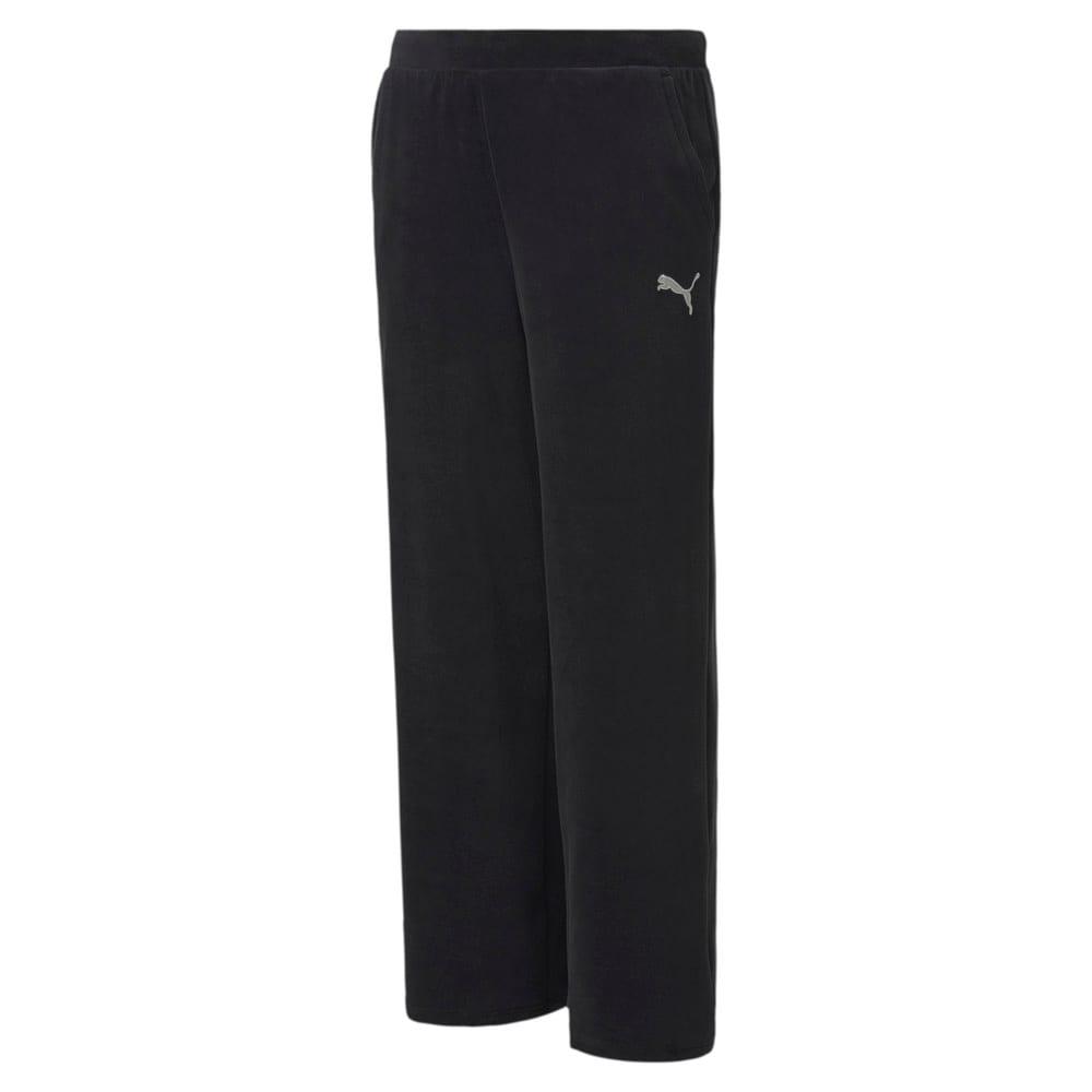 Изображение Puma Детские штаны Alpha Velvet Pants #1