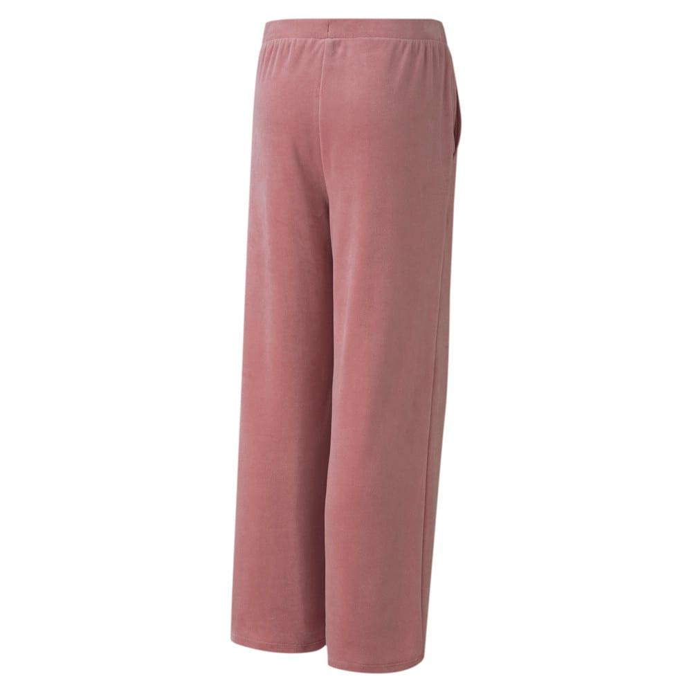 Изображение Puma Детские штаны Alpha Velvet Pants #2