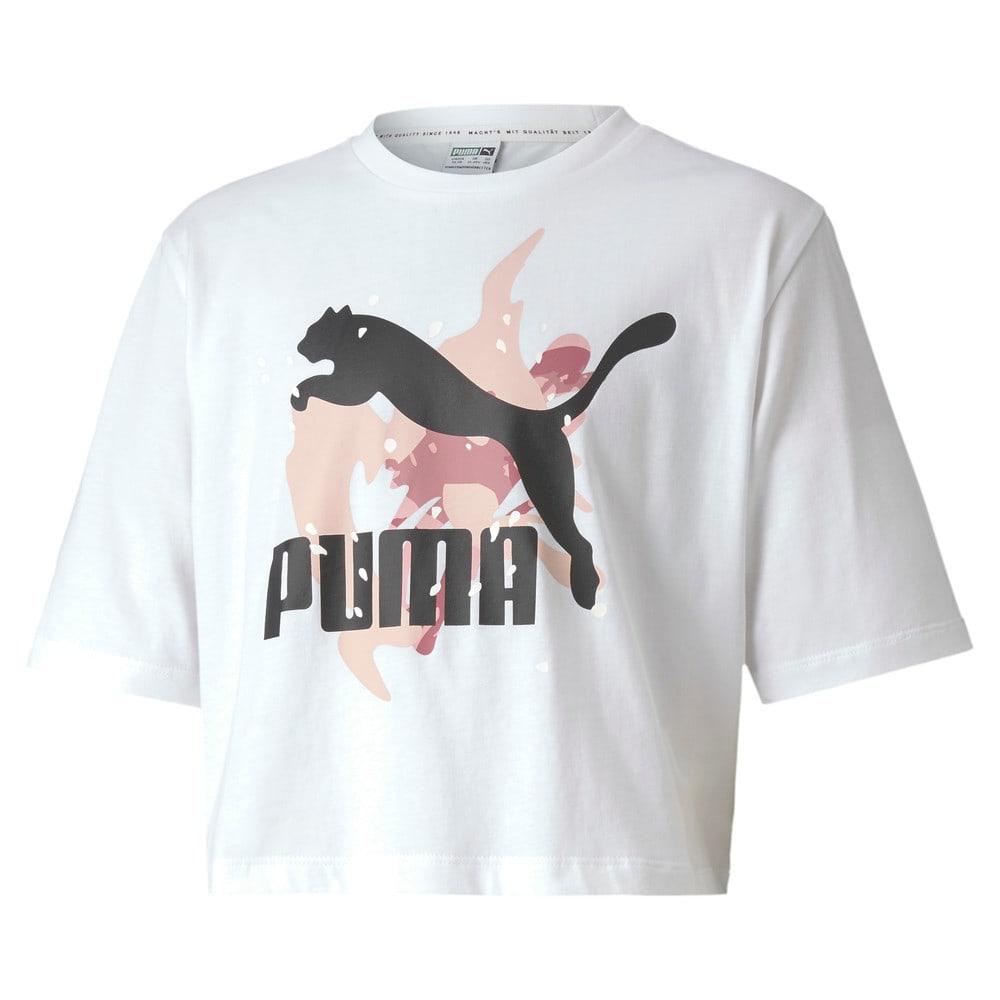 Изображение Puma Детская футболка Classics Wild Tee #1