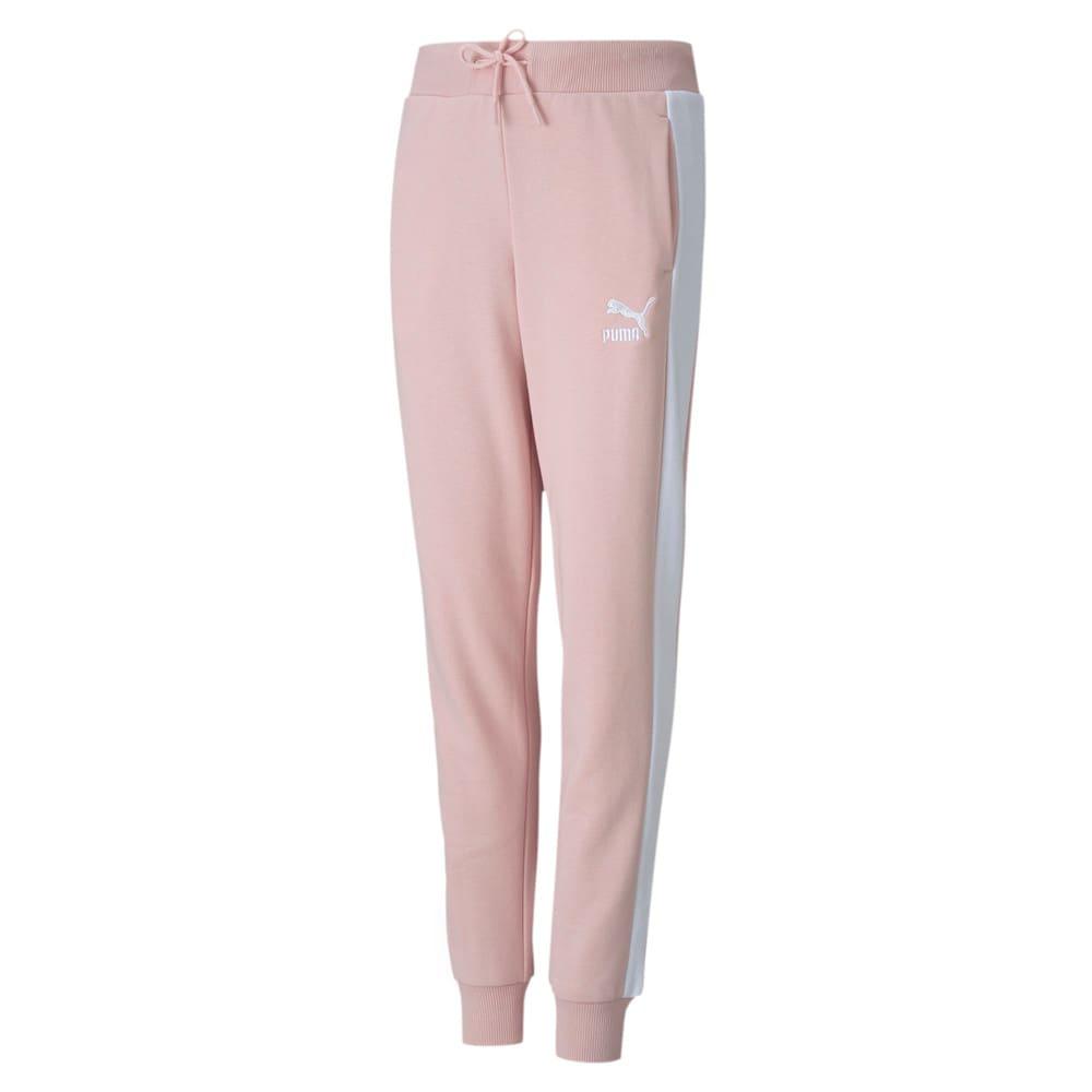 Изображение Puma Детские штаны Classics T7 Sweatpants #1