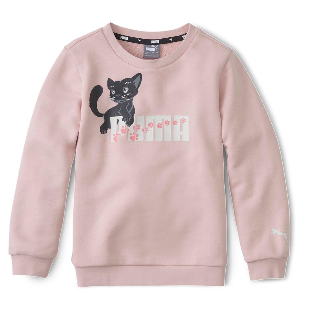Изображение Puma Детская толстовка Animals Crew #1