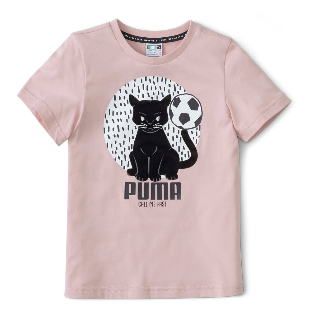 Изображение Puma Детская футболка Animals Suede Tee #1
